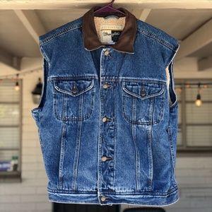 Wrangler Outerwear Denim Jacket Vest